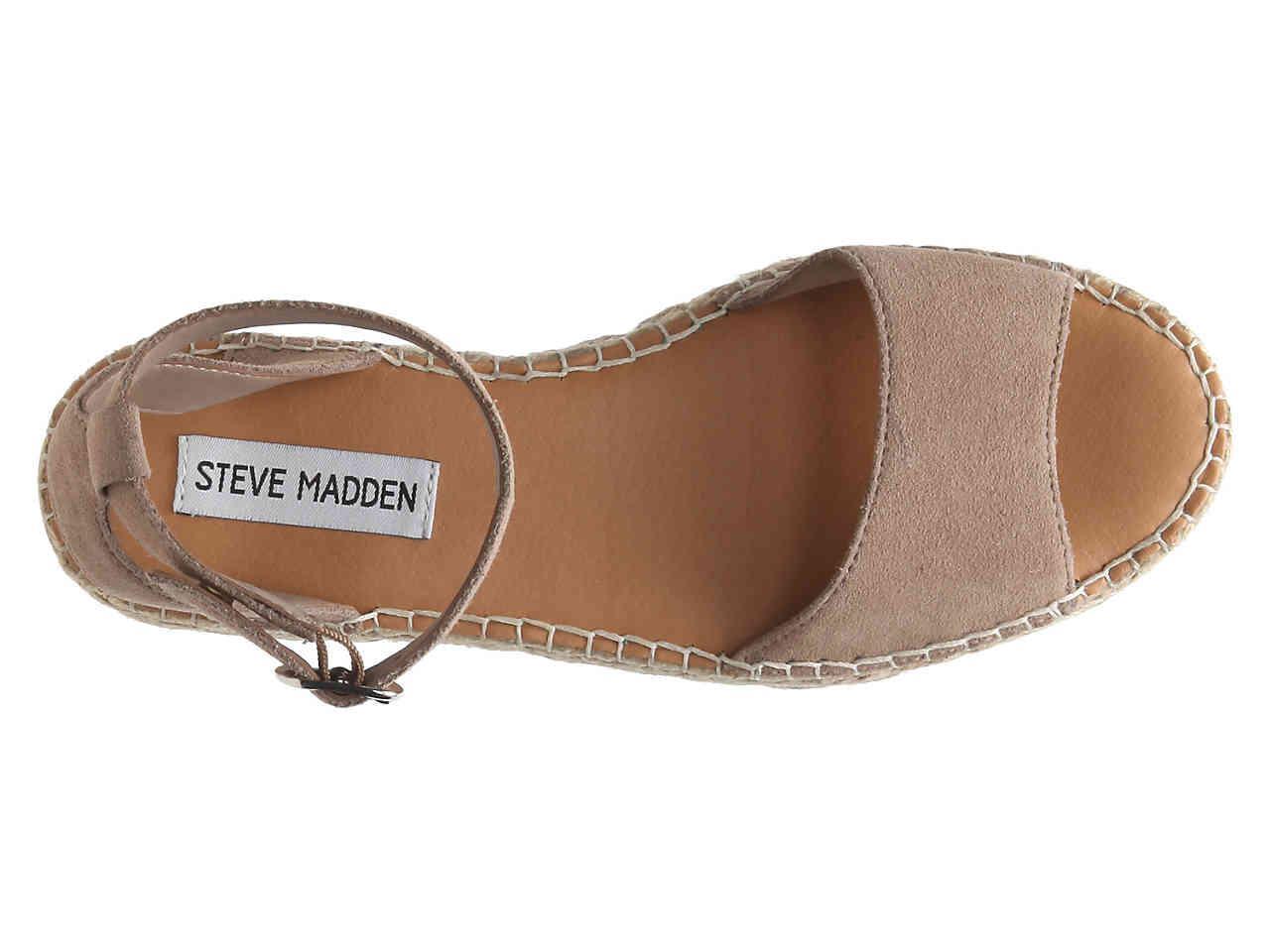 962cfbf7da1 Lyst - Steve Madden Irys Espadrille Platform Sandal