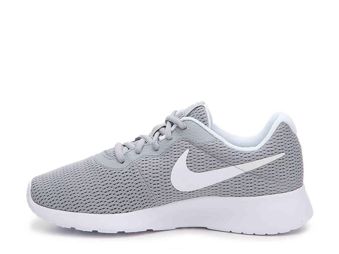 ... spain lyst nike tanjun sneaker in gray 2d03e 1549c e04e5b916