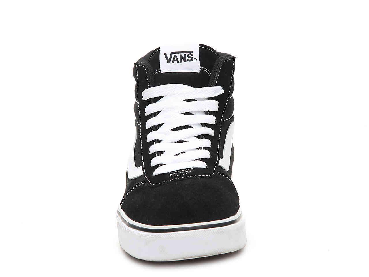 ece21806d8d2b0 Vans - Black Ward Hi Suede High-top Sneaker for Men - Lyst. View fullscreen