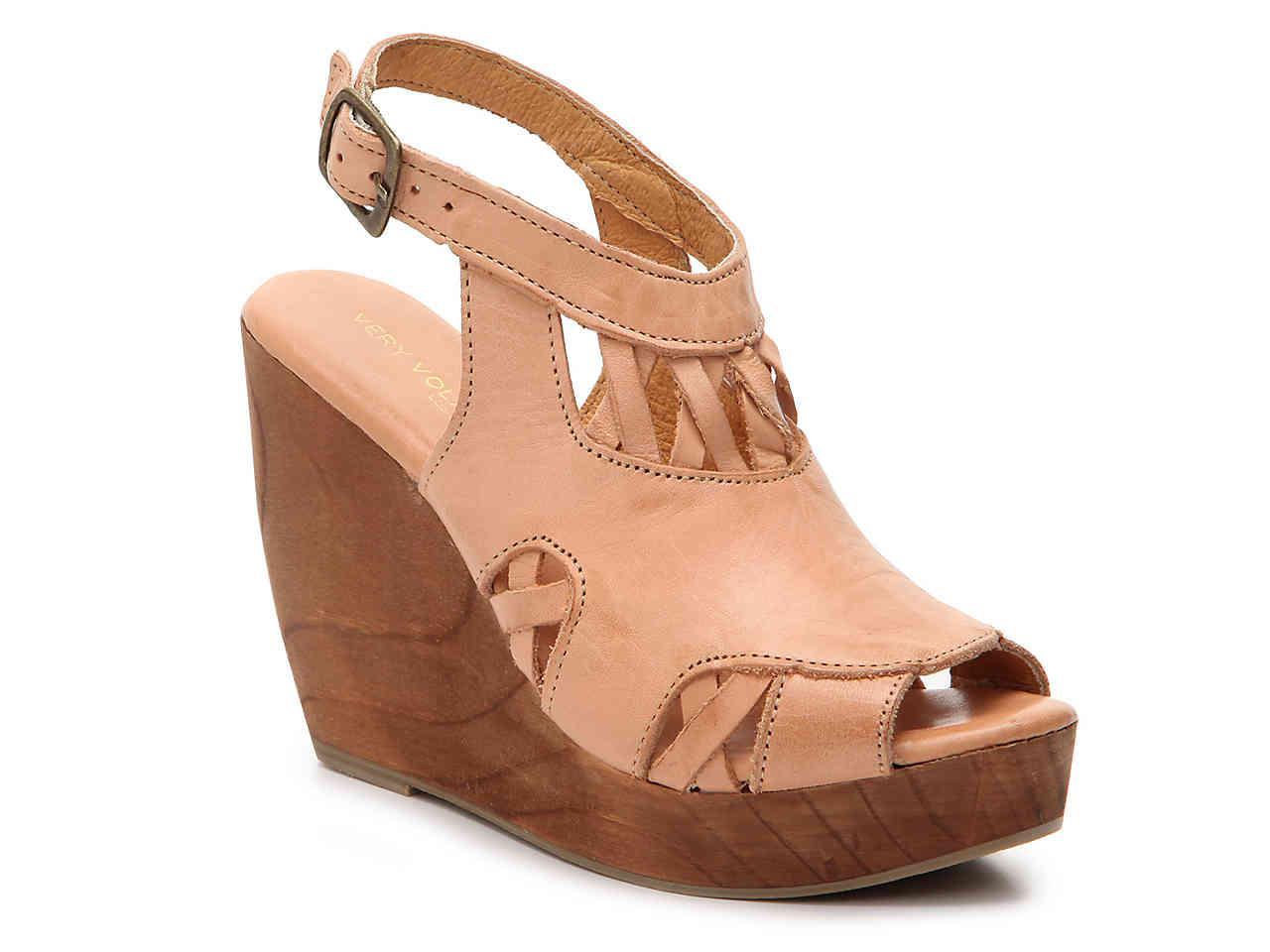 6acc9d3125e Lyst - Very Volatile Affinity Wedge Sandal