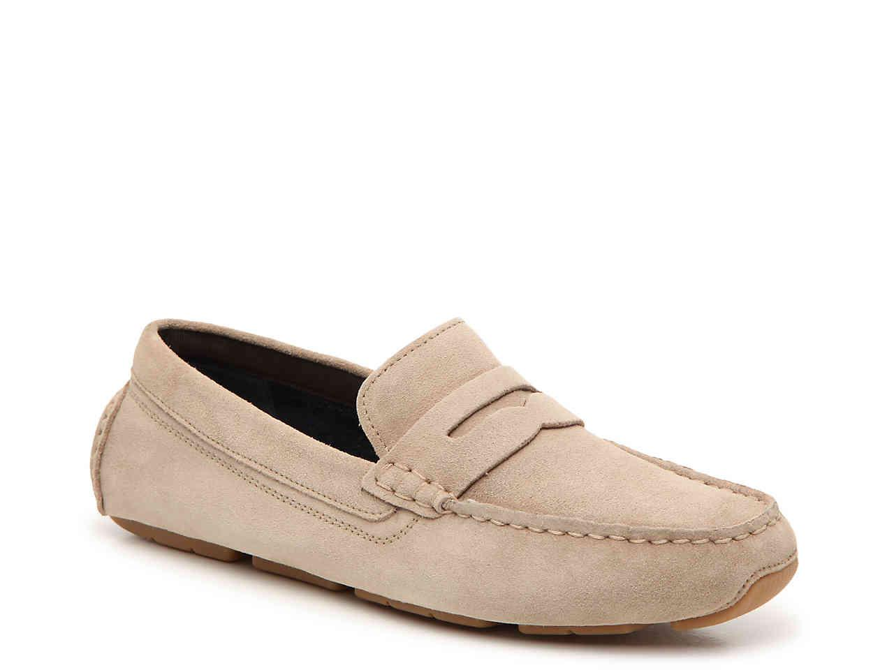 Cole Haan Suede Kelson Penny Loafer for Men - Lyst