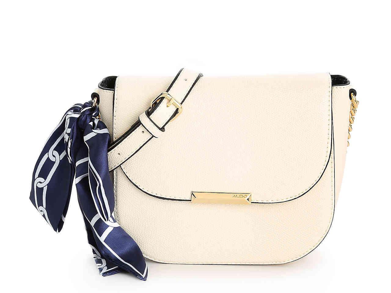 4d9d0e5dd8a Lyst - ALDO Disspain Crossbody Bag in White