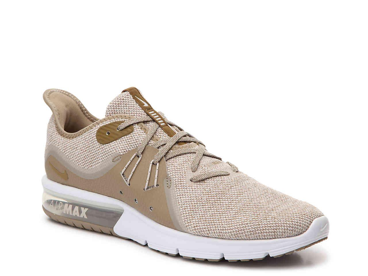 1eba009e4b Nike Air Max Sequent 3 Performance Running Shoe in Natural for Men ...