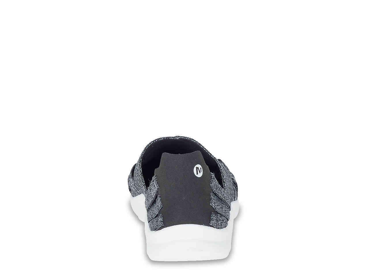 34f510c1bf17ee Lyst - Merrell Flora Kye Weave Slip-on Sneaker in Gray