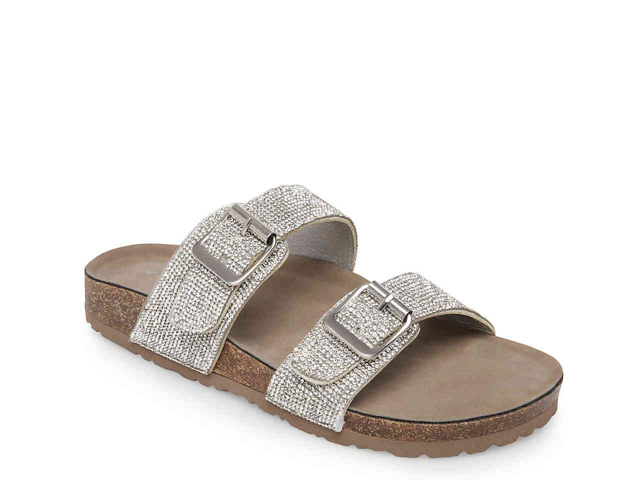 189dd2b8f8e7 Lyst - Madden Girl Brando Sandal in Metallic