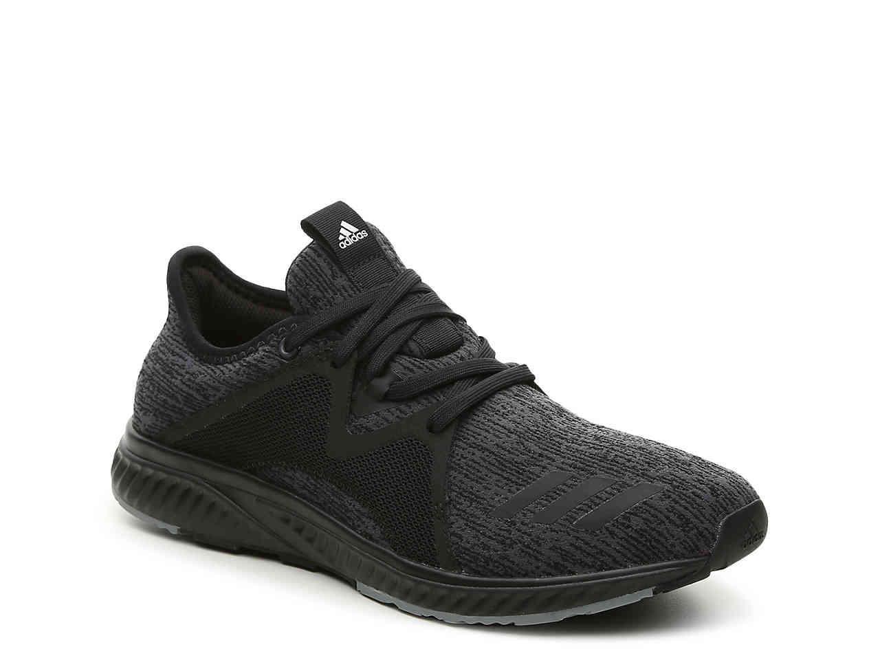 lyst adidas edge lux 2 leggera scarpa da corsa in nero per gli uomini.