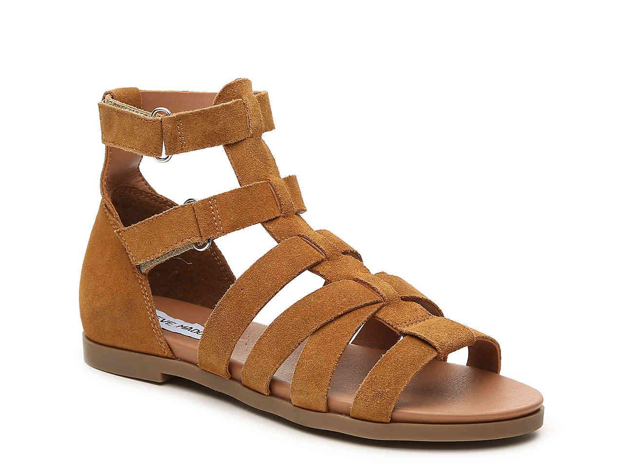 4b8adad0cc3 Lyst - Steve Madden Gali Gladiator Sandal in Brown