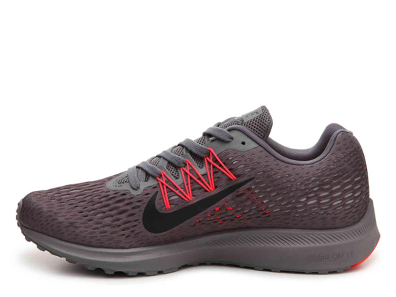 on sale 12cd1 2909d wholesale lyst nike zoom winflo 5 lightweight running shoe in gray for men  227f4 a23ac