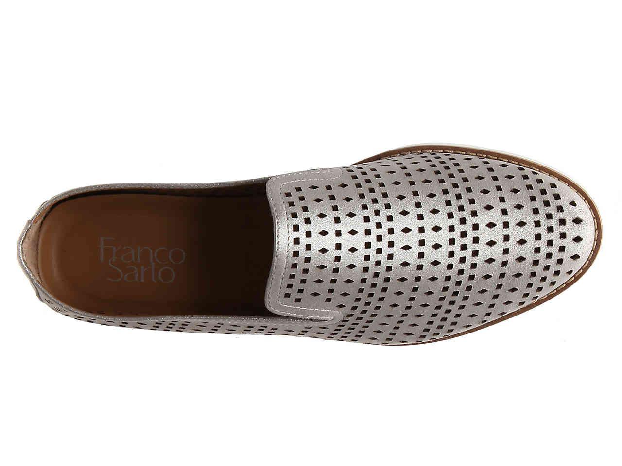 dbf149abb33f Lyst - Franco Sarto Florie Platform Loafer in Metallic