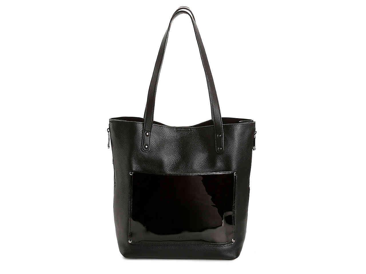 6c26e94c9f2b Lyst - Perlina Judi Leather Tote in Black