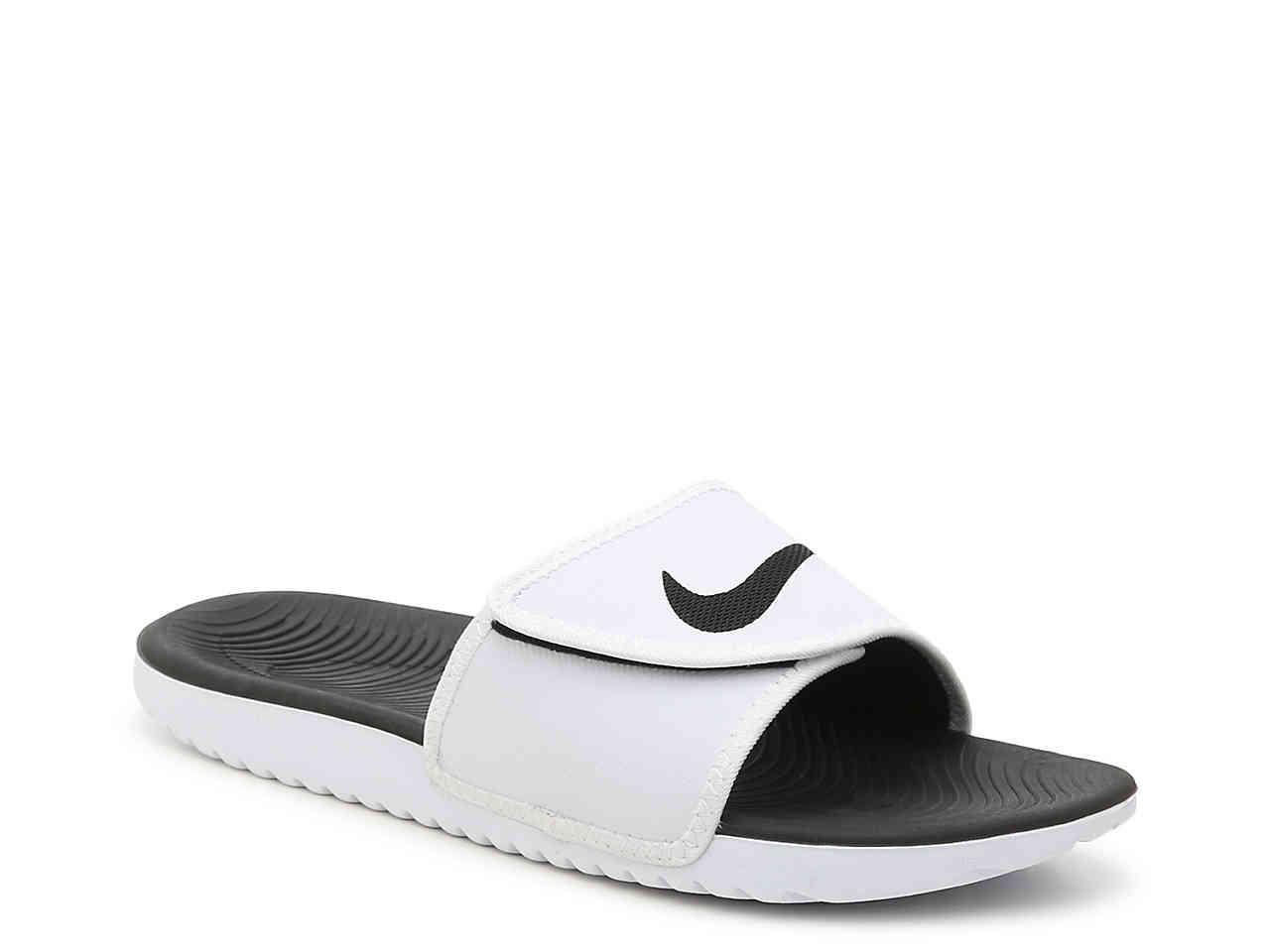1972b3d5385b Lyst - Nike Kawa Slide Sandal in Black