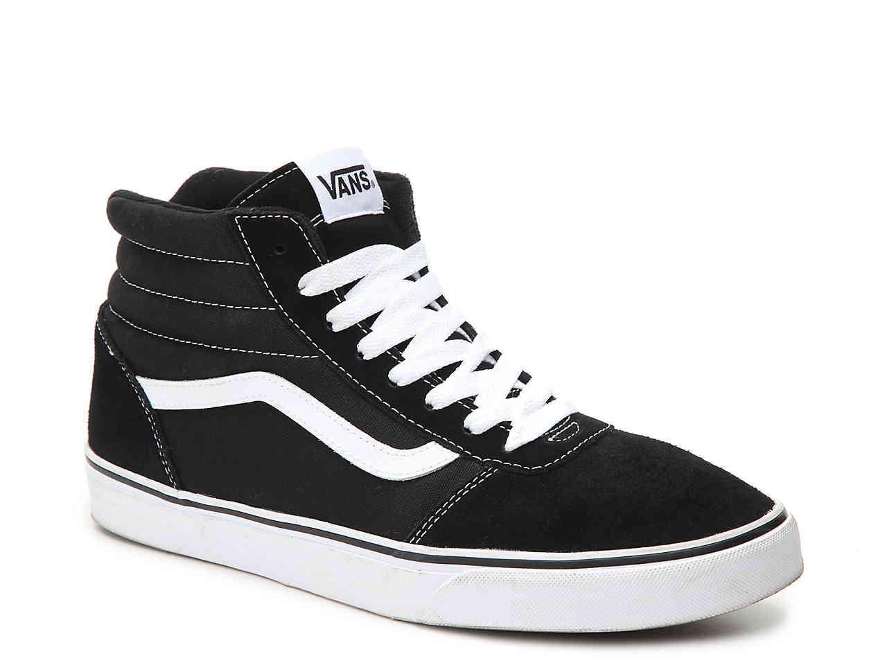 e807a9e41299d6 Lyst - Vans Ward Hi Suede High-top Sneaker in Black for Men