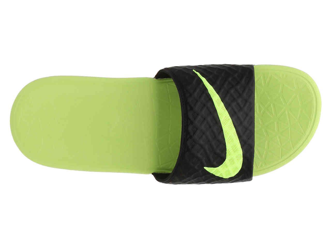 bc008ac09 Nike - Green Benassi Solarsoft 2 Slide Sandal for Men - Lyst. View  fullscreen
