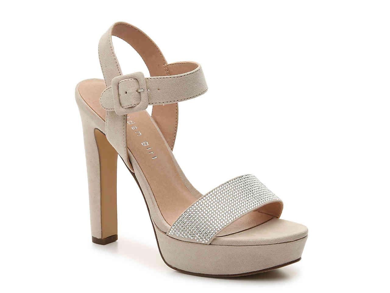 53bc7f8faab2 Lyst - Madden Girl Rollo Platform Sandal in Natural - Save 20%