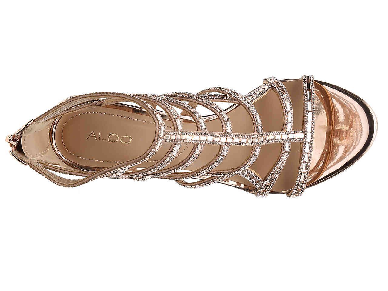 3bf1b0e8df05 Lyst - ALDO Fidenza Sandal in Metallic