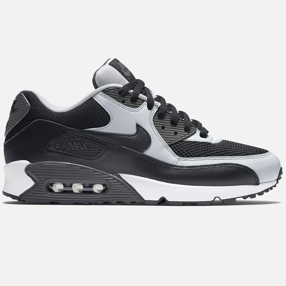 60868255cd Lyst - Nike Air Max 90 Essential-black Wolf Grey Anthracite in Black ...