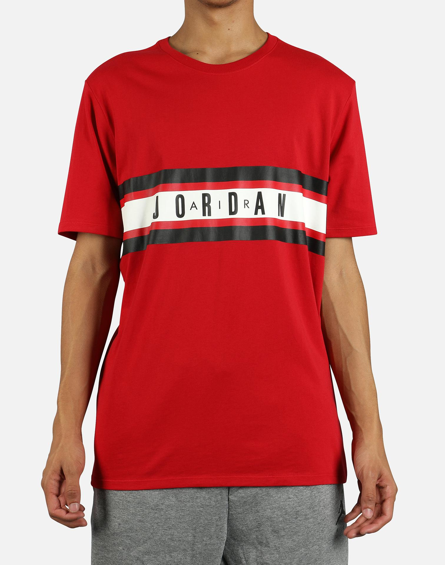 06f228ee6e02 Lyst - Nike Basketball Dry Graphic 4 Tee in Red for Men