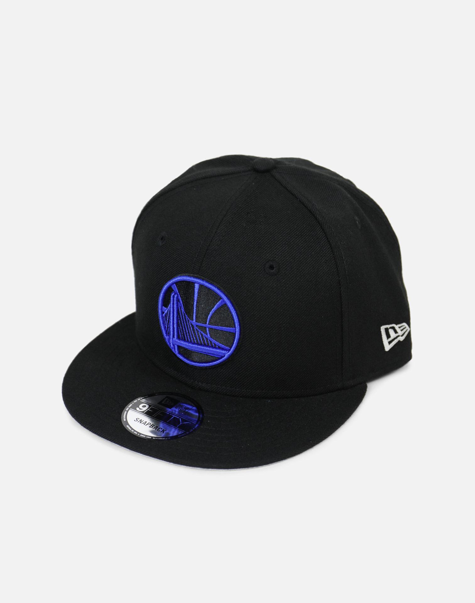 Lyst - Ktz Golden State Warriors Royal Hook Snapback Hat in Black ... 9f29e02a0ab2