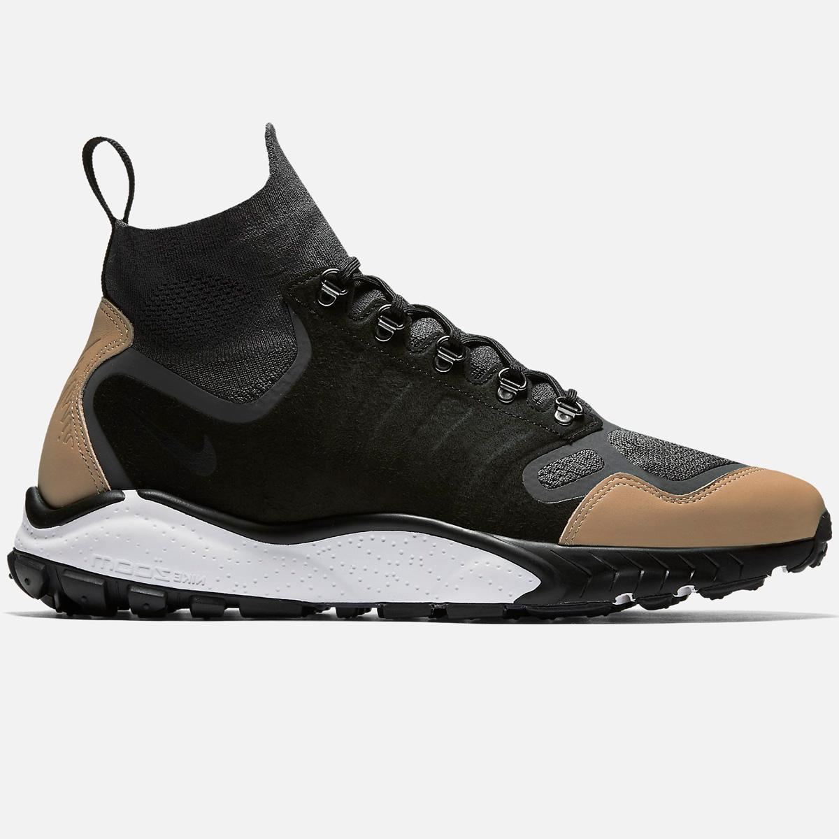 3349f76022a Lyst - Nike Air Zoom Talaria Mid Flyknit Premium in Black for Men
