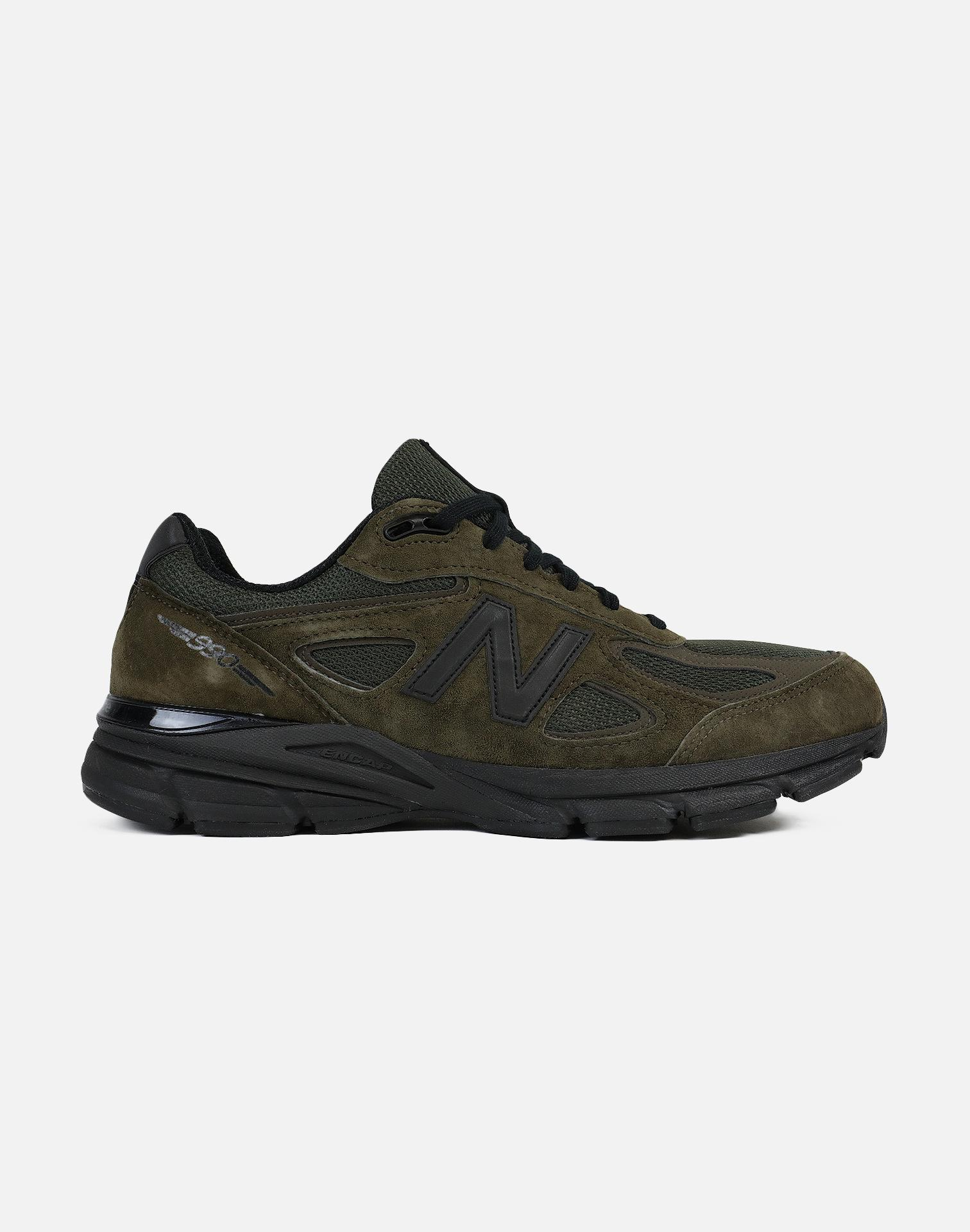 eb4d8b246931 ... discount lyst new balance 990 olive green black in green for men 05090  d8428