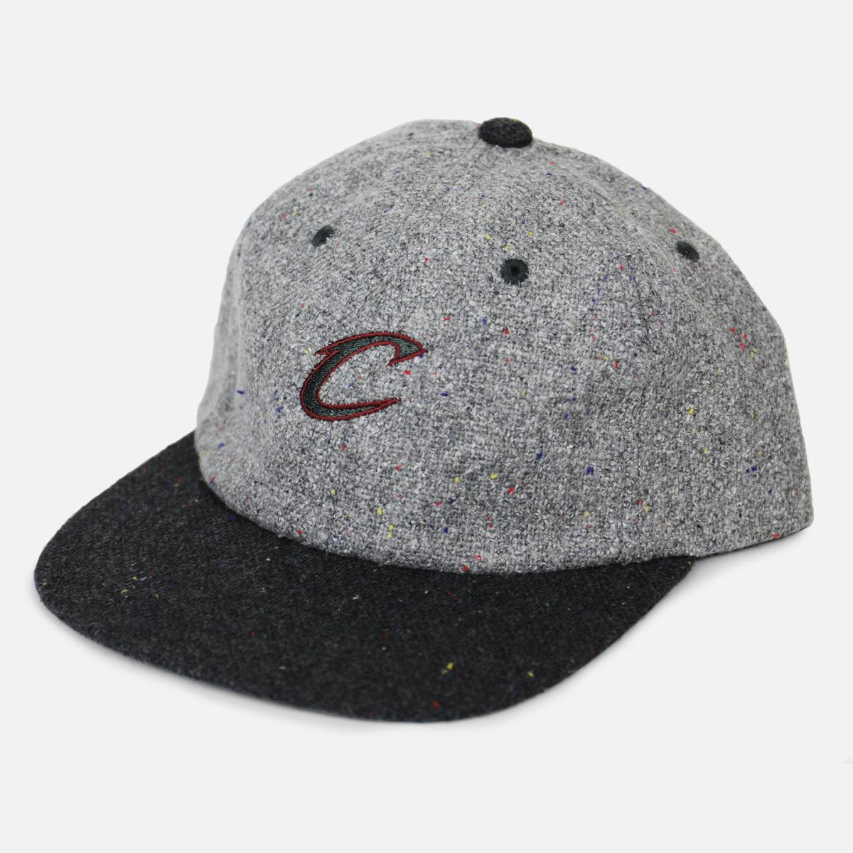d81170d1df1 Lyst - Mitchell   Ness Cleveland Cavaliers Speckled Dad Hat in Gray ...