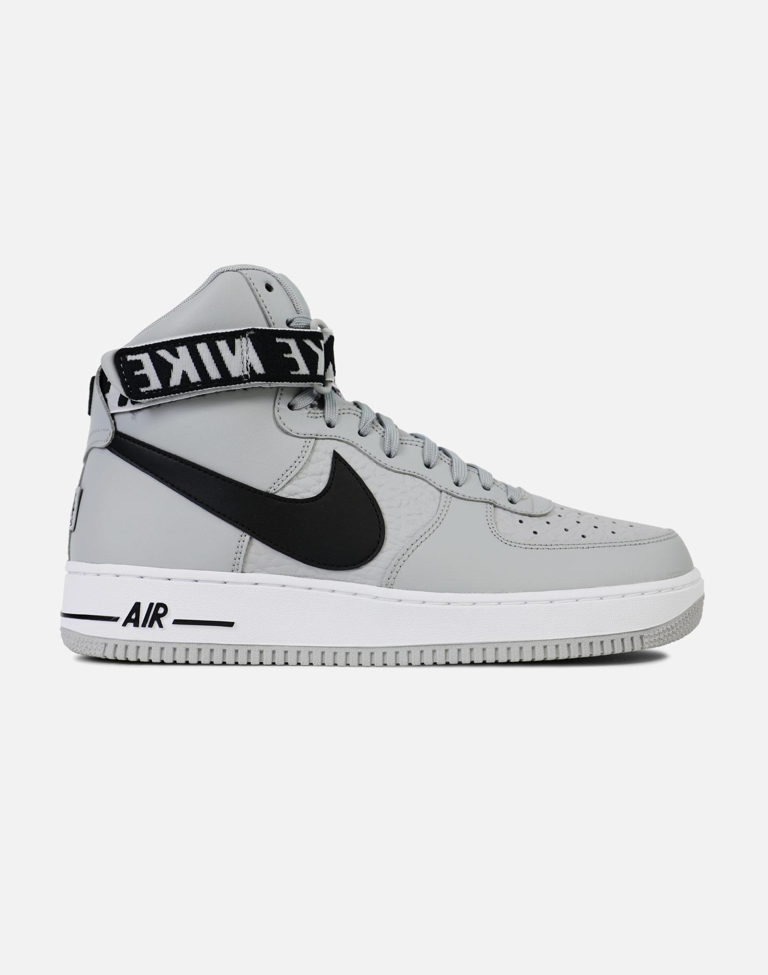 Lyst Nike Air Force 1 High 07 silver Black White in Gray for Men