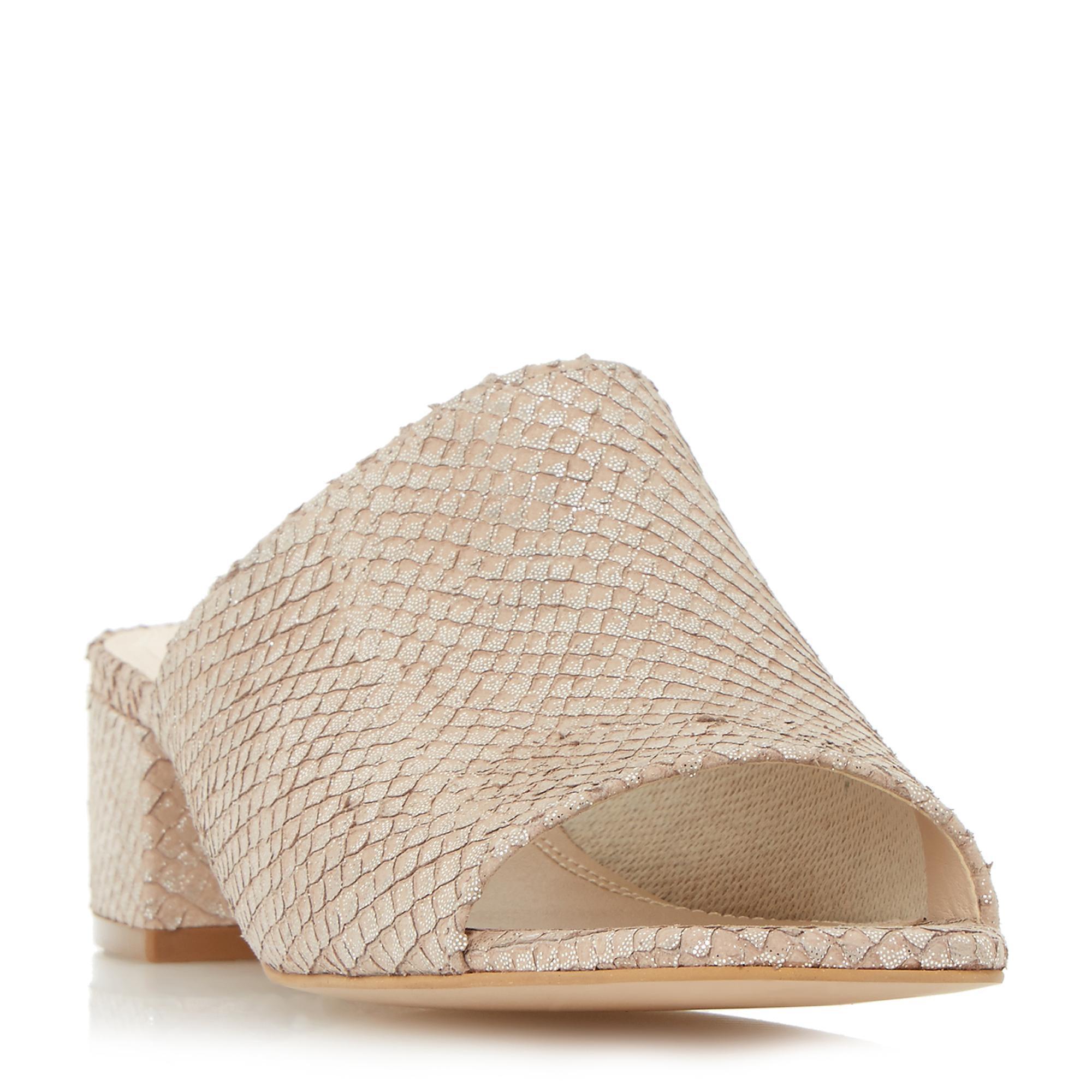 19a3c9f53 Dune. Women s Block Heel Mule Sandal