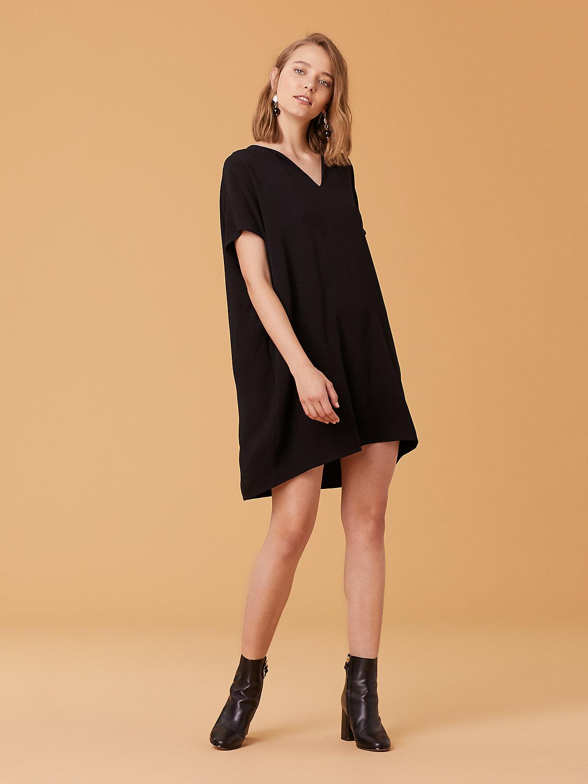 4fb5e7e0b52 Diane von Furstenberg The Dvf Kora Dress in Black - Lyst