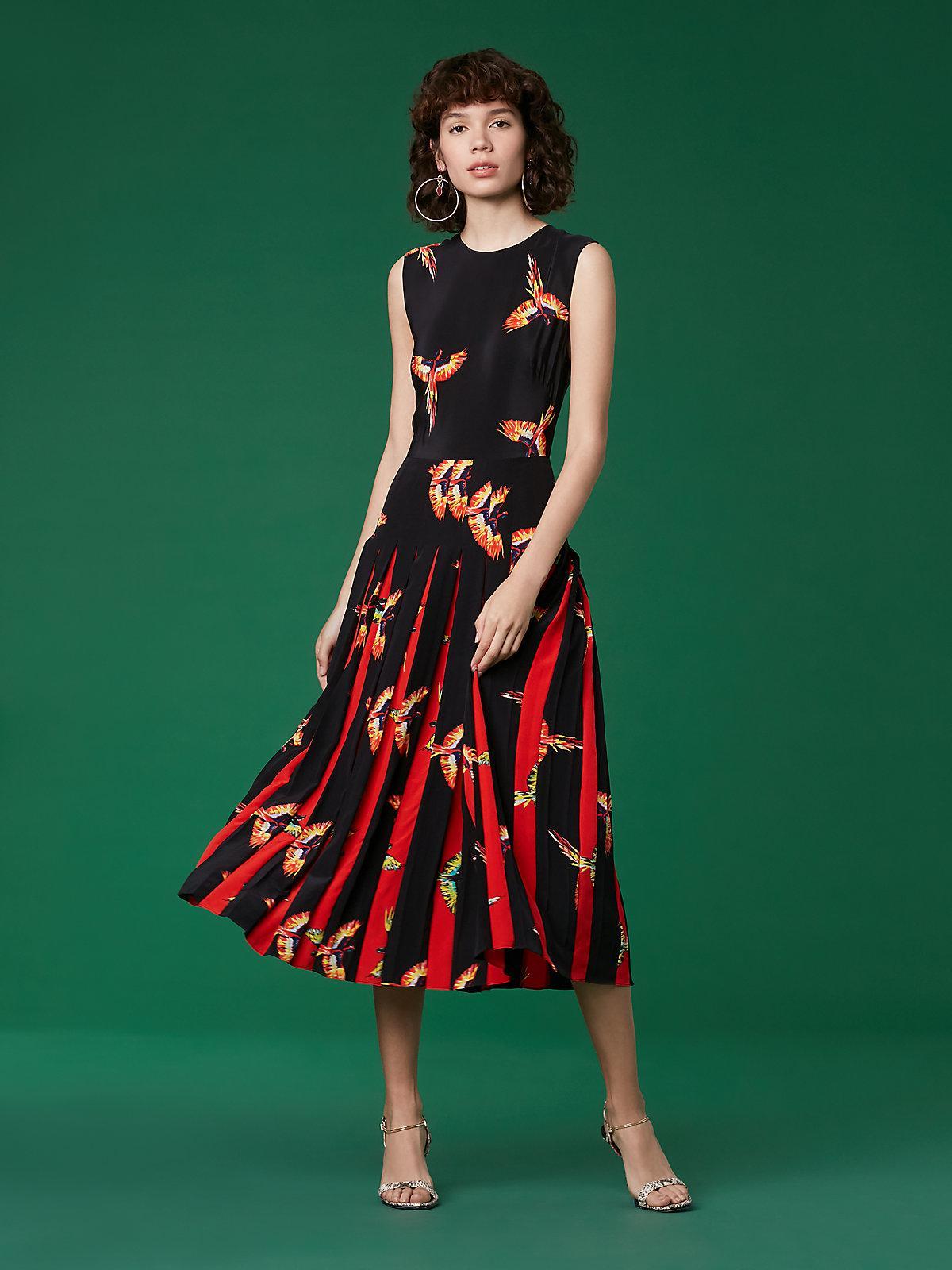 c6c6956d58388 Diane von Furstenberg The Dvf Talita Dress in Red - Save 60% - Lyst