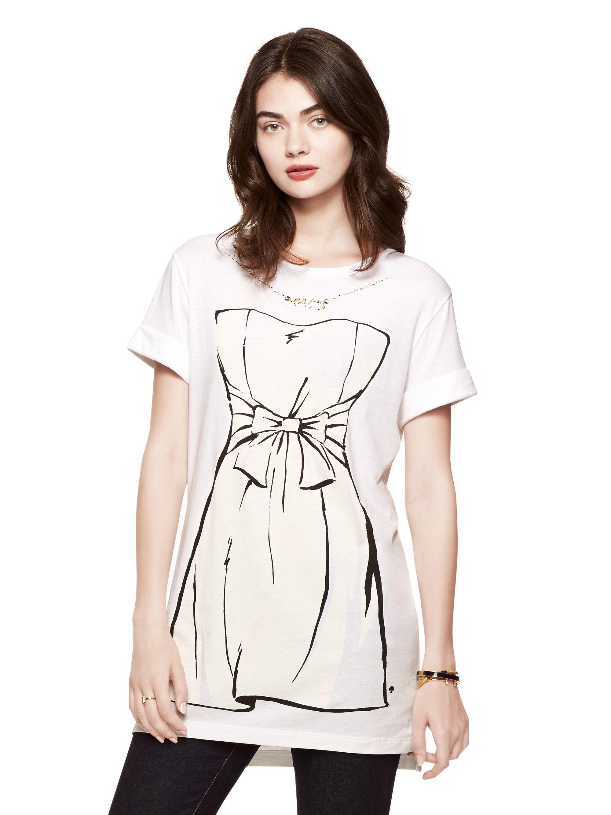 734f7f9384c Kate Spade Wedding Dress Tunic in White - Lyst