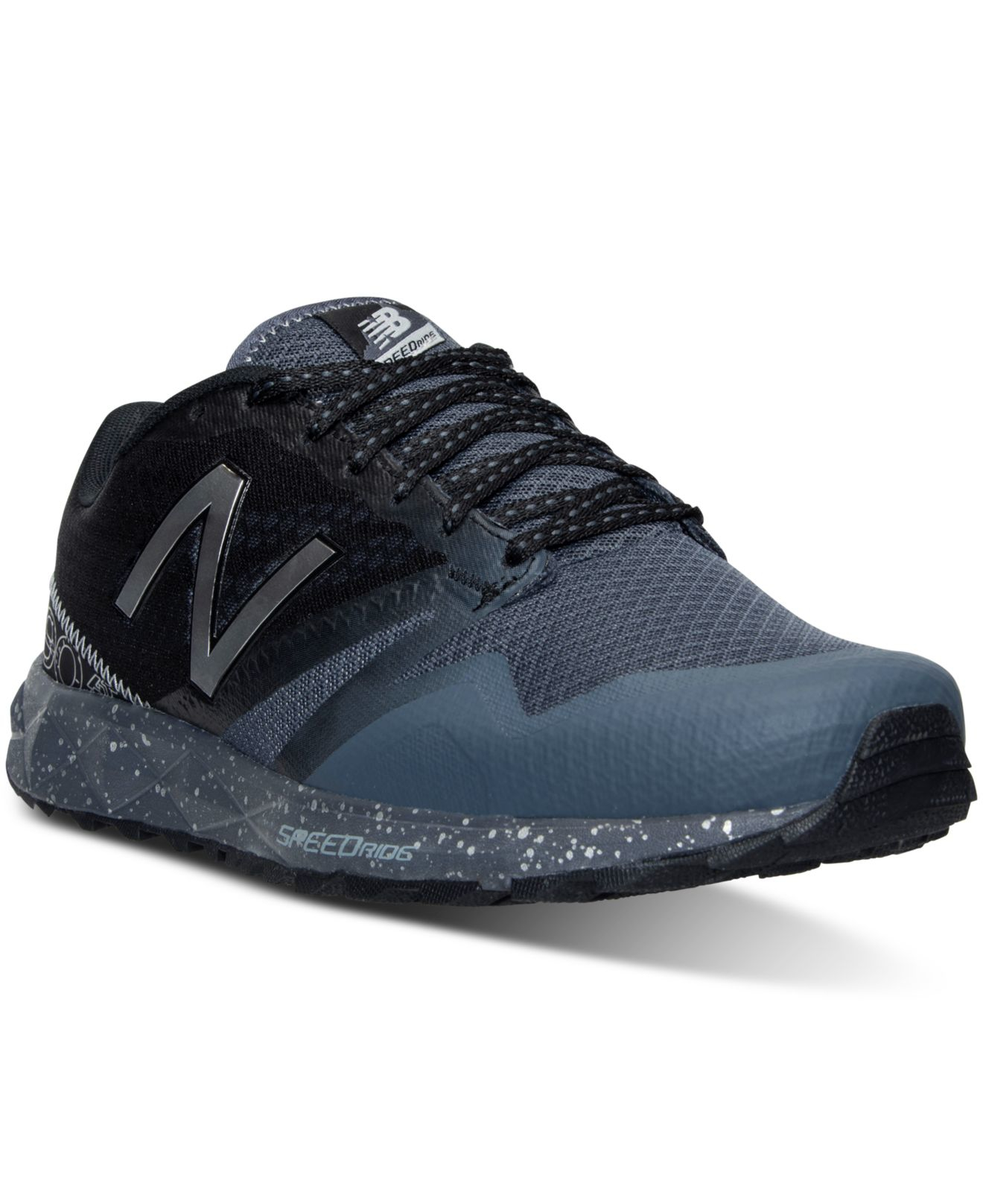 new balance men 39 s 690 wide running sneakers from finish line in gray for men lyst. Black Bedroom Furniture Sets. Home Design Ideas