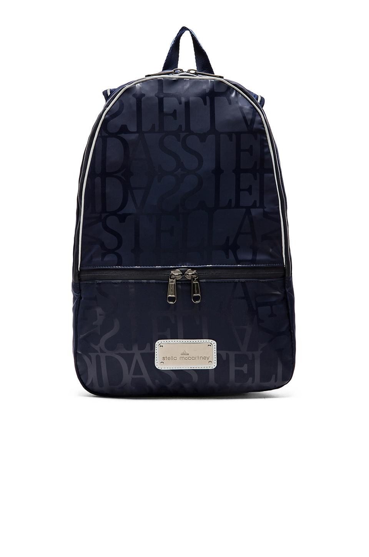 adidas by stella mccartney backpack in blue lyst. Black Bedroom Furniture Sets. Home Design Ideas