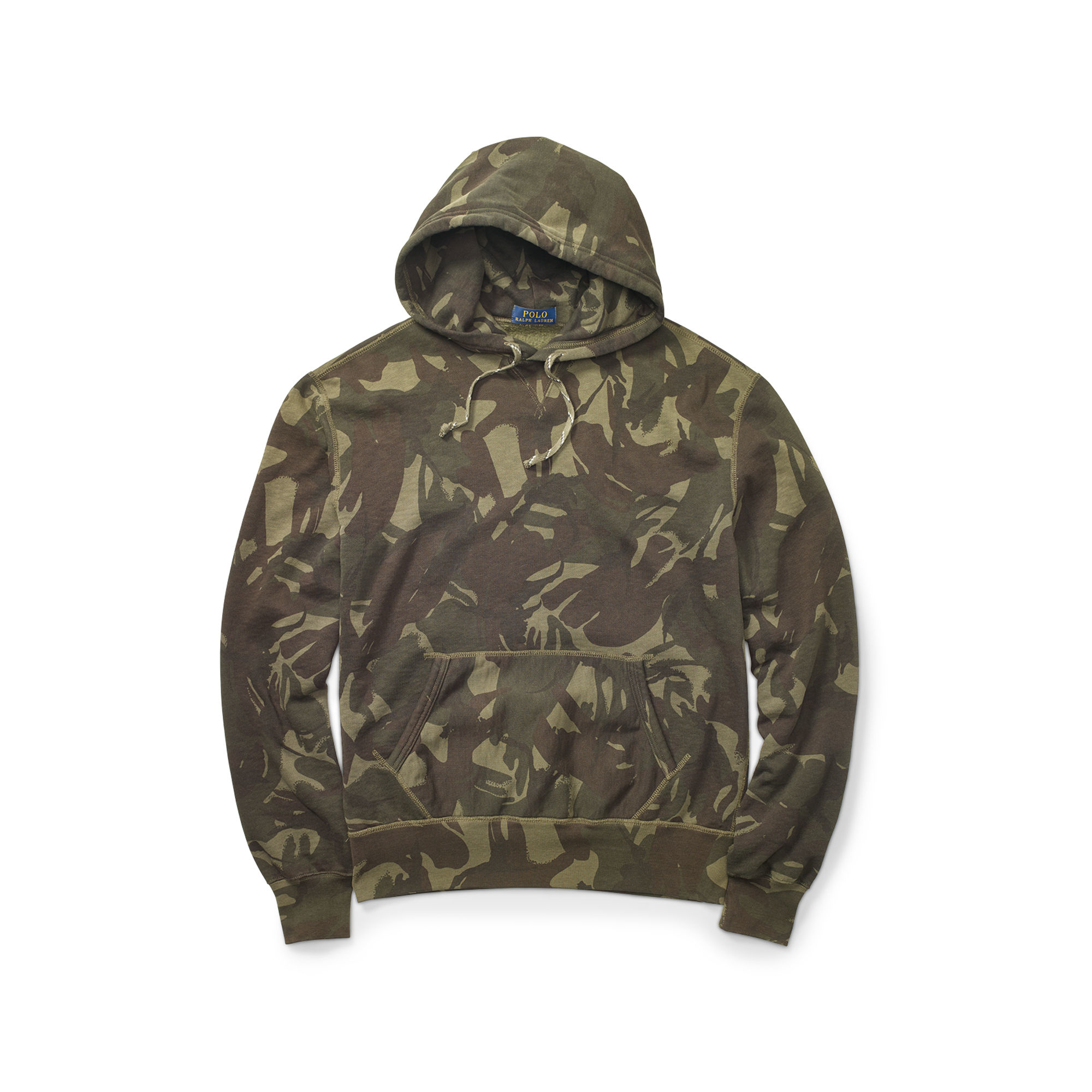 3f4d023a2 ... greece polo ralph lauren camouflage fleece hoodie in green for men lyst  49e09 27ea3