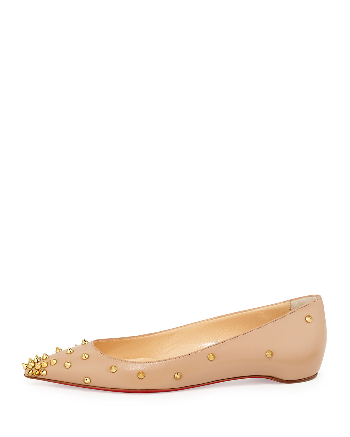 replicas christian louboutin - christian louboutin Degraspike pointed-toe flats | The Little Arts ...