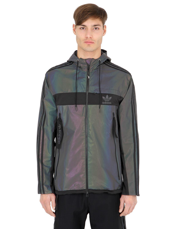 Adidas Originals Xno Hoody Windbreaker Jacket For Men Lyst