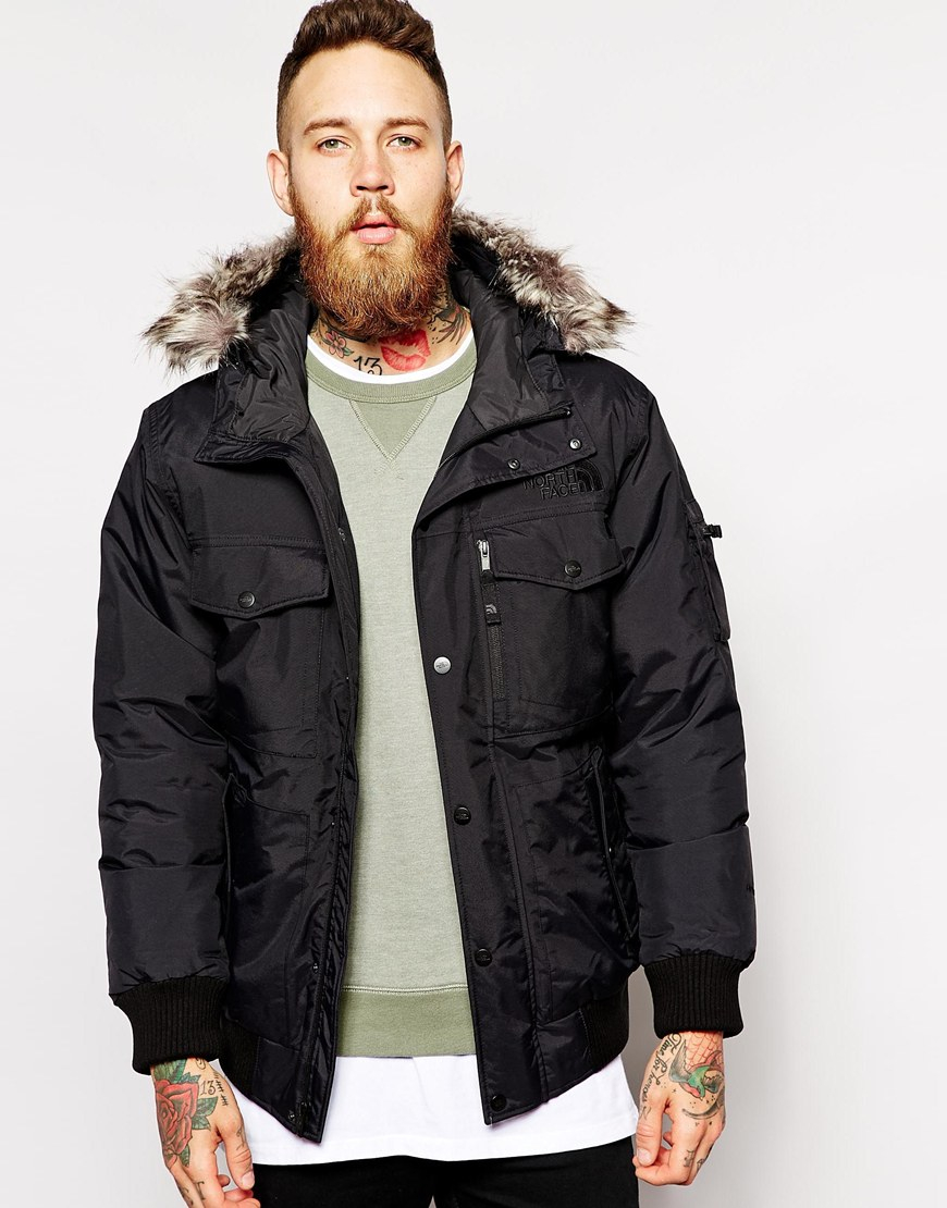 603ec96f089a Lyst - The North Face Gotham Jacket in Black for Men