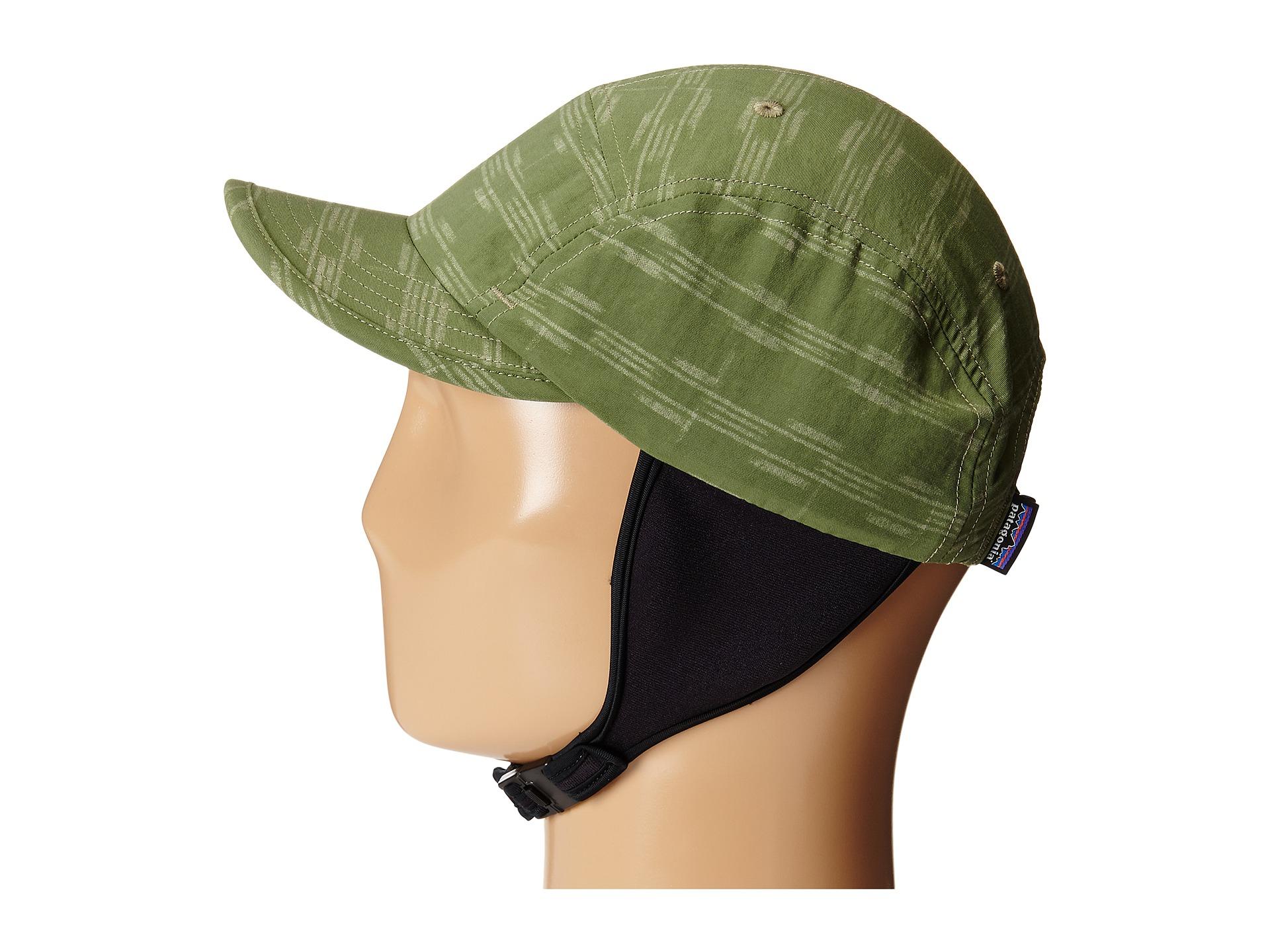 a8e3e95125e Lyst - Patagonia Surf Duckbill Hat in Green for Men