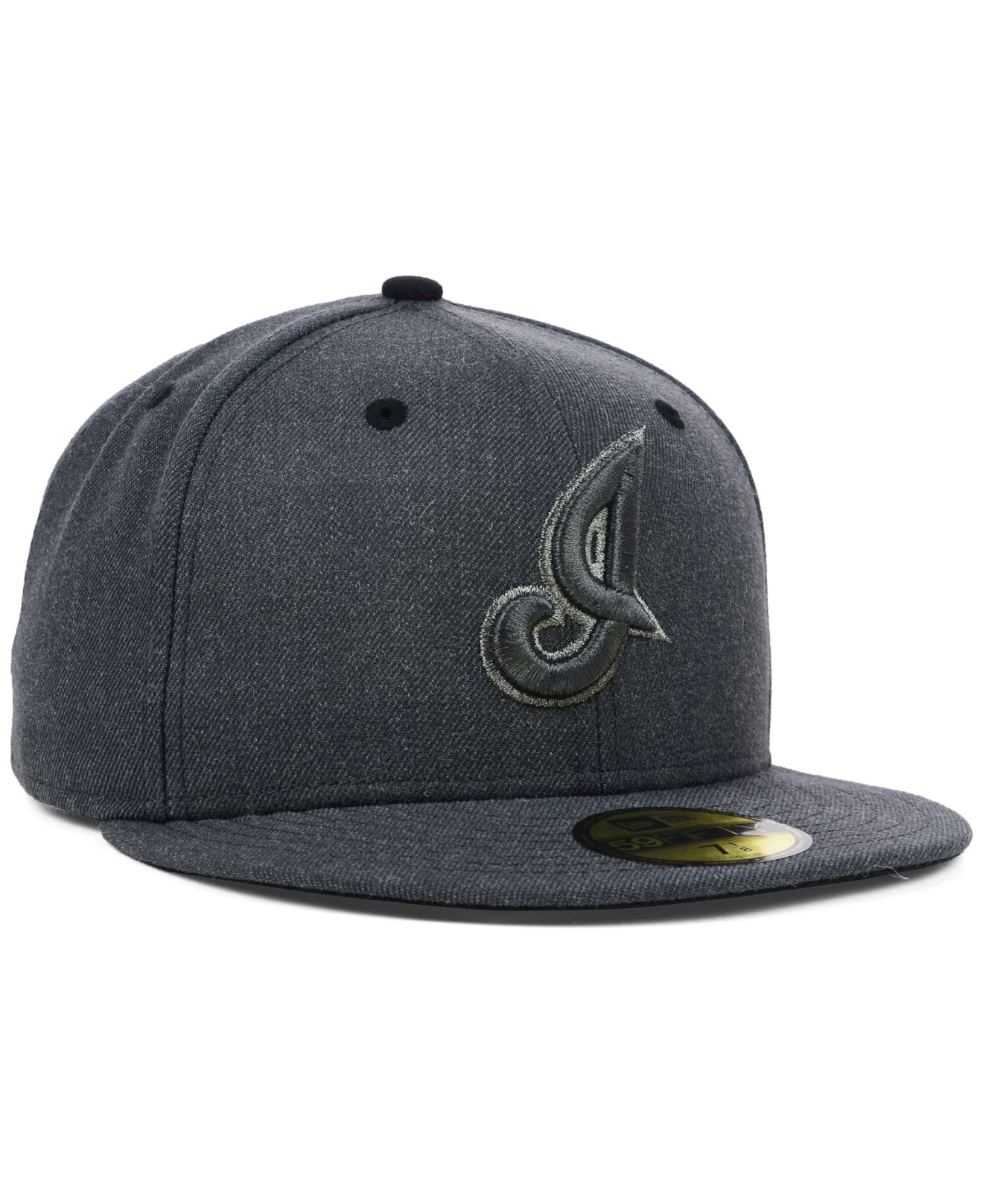 reputable site 8f055 9bc16 ... cleveland indians 59fifty two tone heather 96a96 71b5b  where can i buy  gallery. previously sold at macys mens team hats mens new era