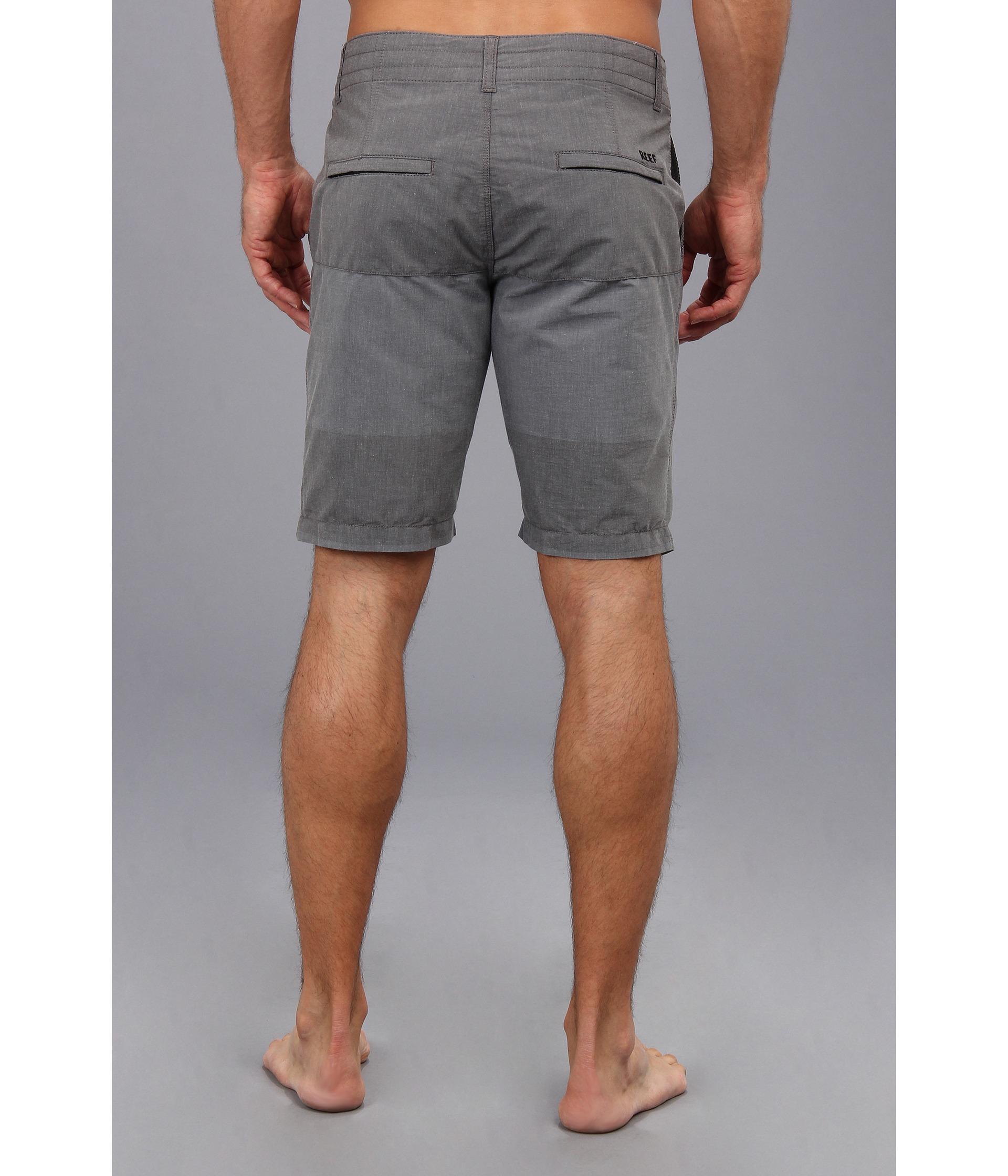 8ffb8536b5 Reef Captain Hybrid Short in Black for Men - Lyst