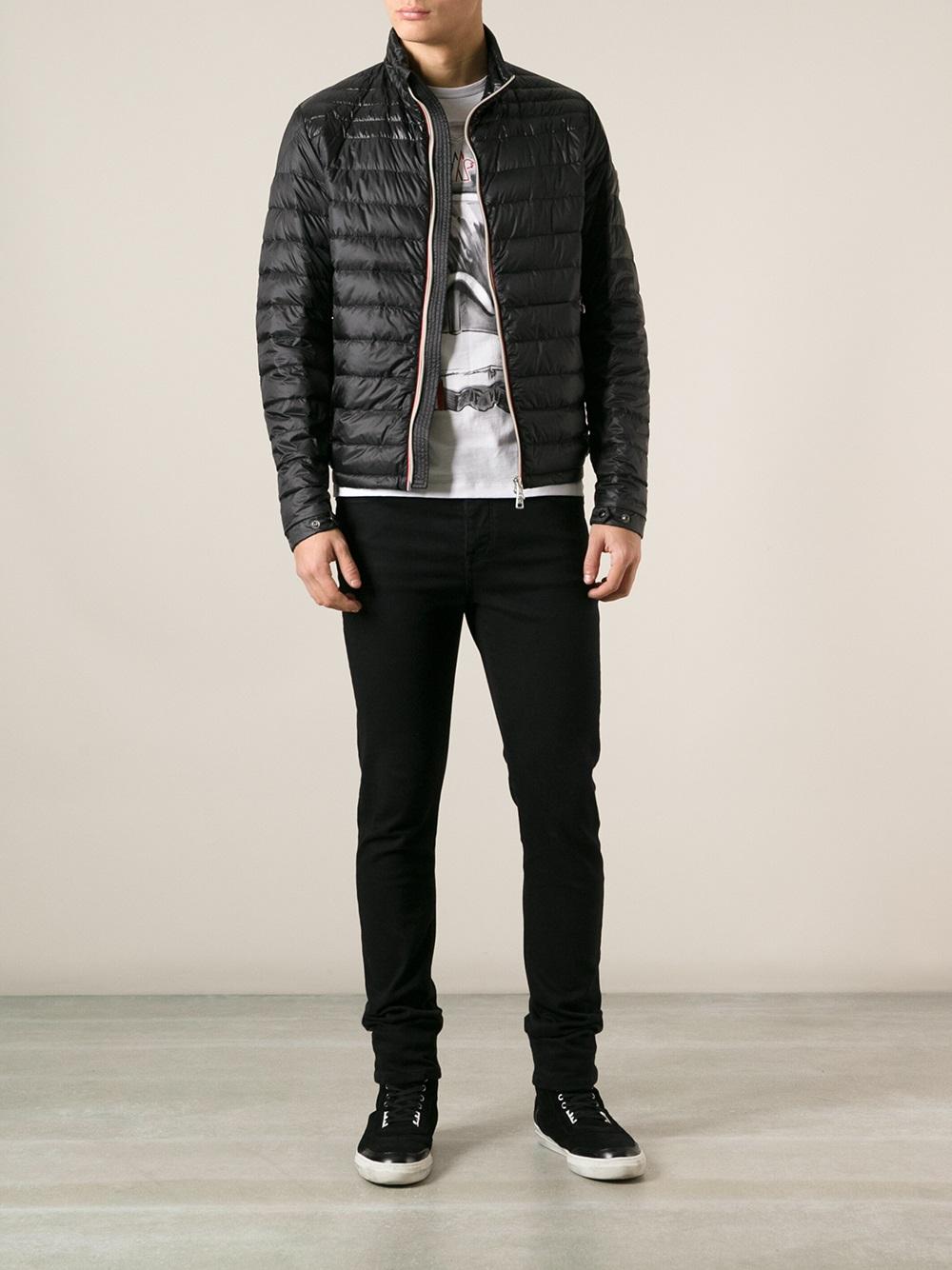 moncler black daniel jacket