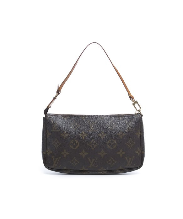 Louis Vuitton Trash Bags Gallery Louis Vuitton Brown Pre Owned Monogram Canvas Pochette Accessories