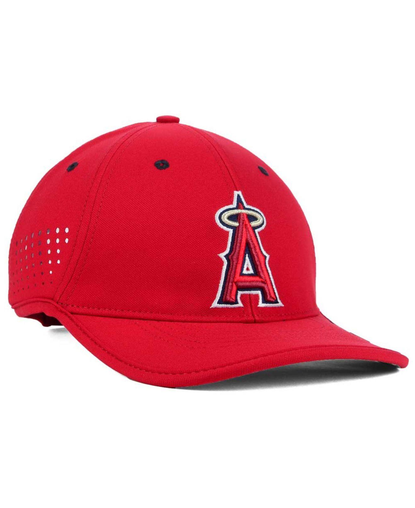 c0779f156d5 Lyst - Nike Los Angeles Angels Of Anaheim Vapor Swoosh Adjustable ...