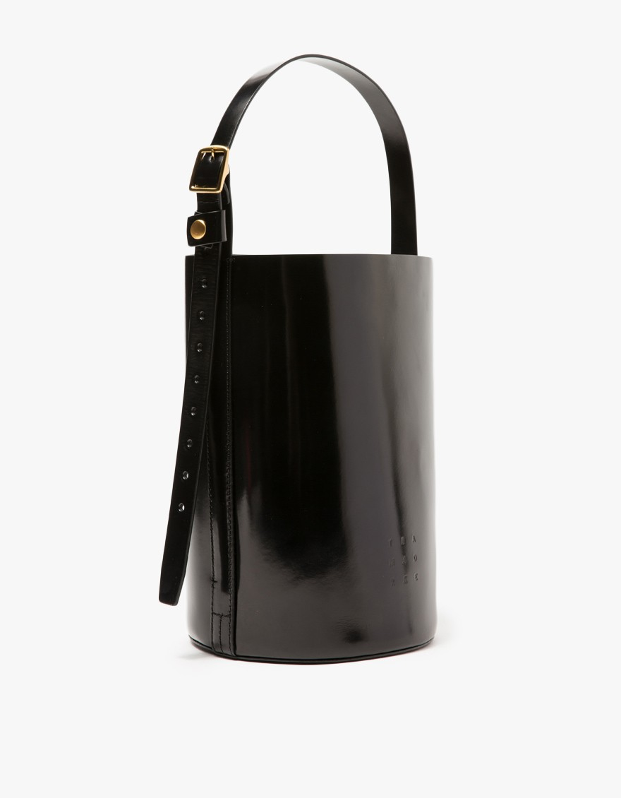 Trademark Bucket Bag In Black Lyst