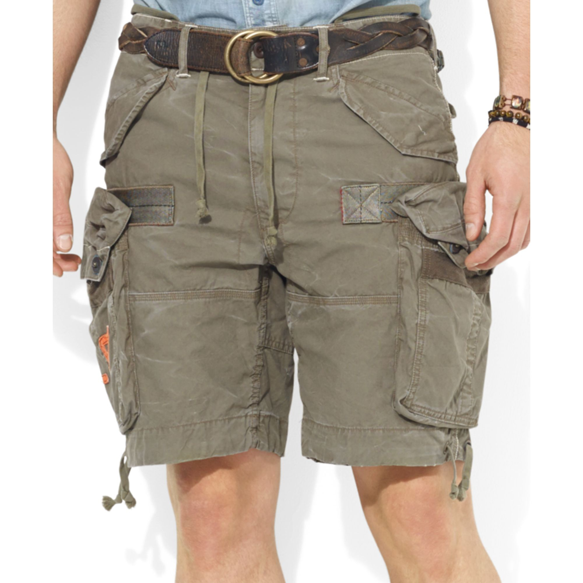 2491d7440dda ... reduced lyst ralph lauren polo big and tall cargo shorts in natural for  men ce78d 19e0e