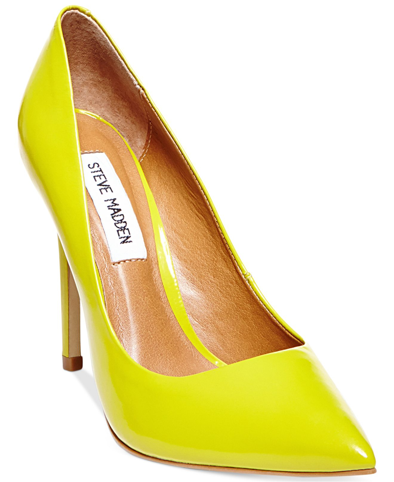 affd07d3d7e4 Gallery. Previously sold at  Macy s · Women s Yellow Heels ...
