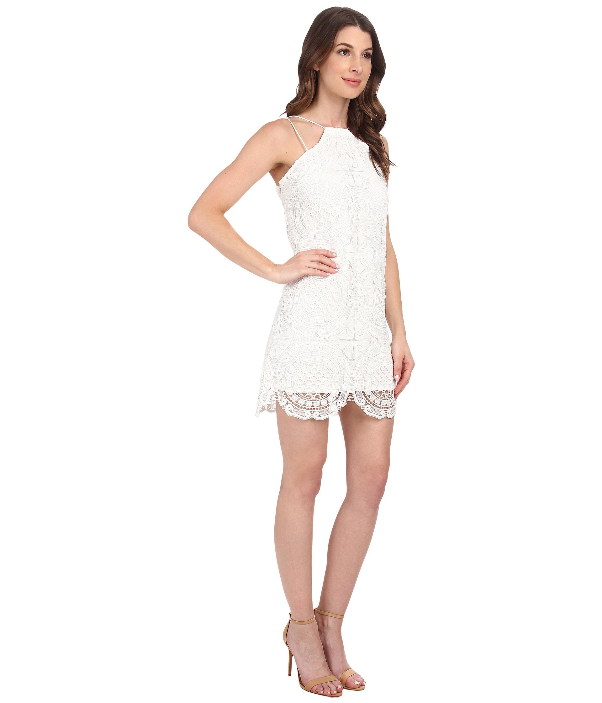 Lyst Stylestalker Hong Kong Shift Dress In White