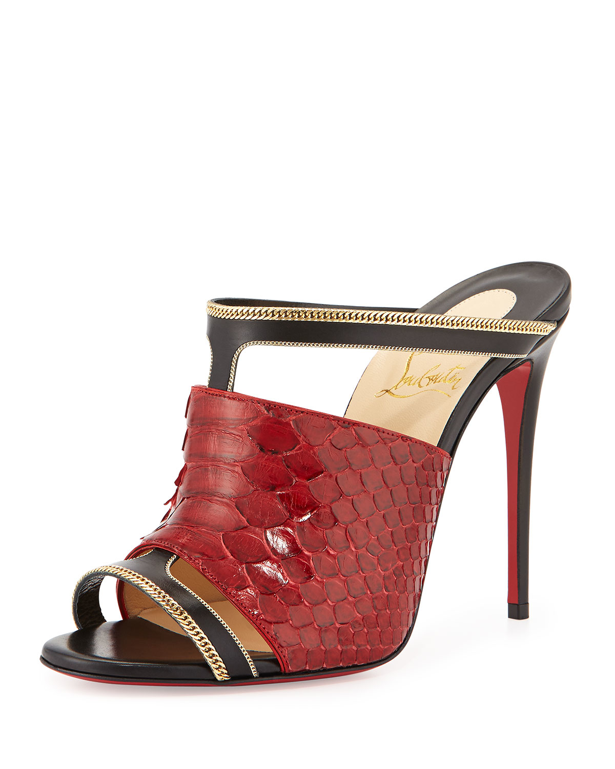 Red Mule Shoes