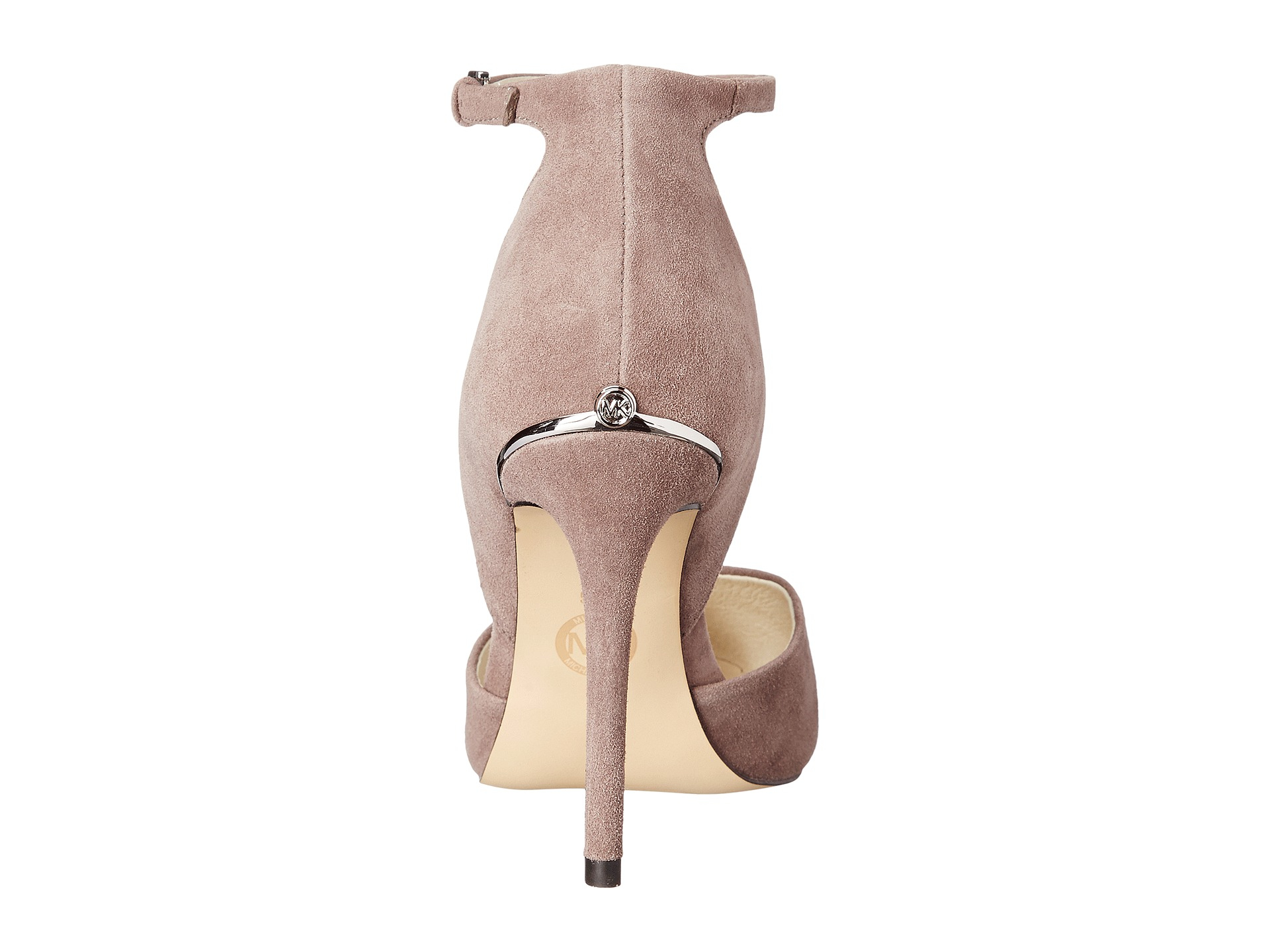 7e2daa148515 Lyst - MICHAEL Michael Kors Georgia Ankle Strap in Pink