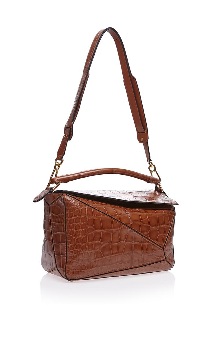 Loewe Crocodile Mini Bag Countdown Package Online Pre Order Sale Online Cheap Online Shop LJcpIX