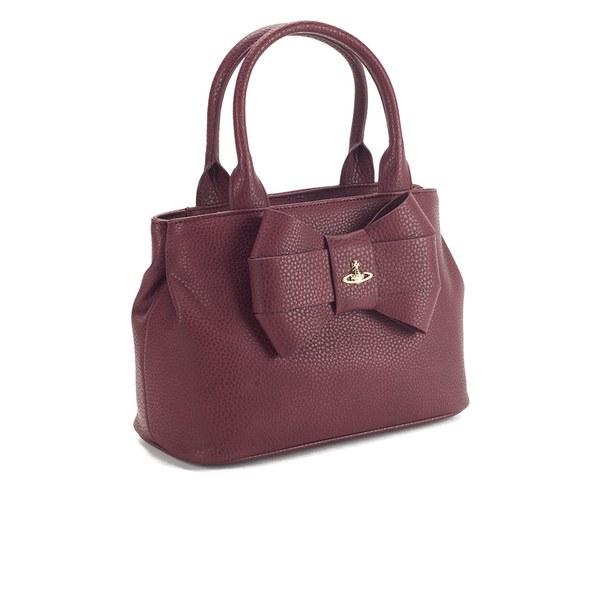 d22b6afae5d Vivienne Westwood Women's Bow Tote Bag in Purple - Lyst